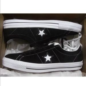 313b8aee377621 Converse Shoes - Converse One Star Skate OX Black White 149908C